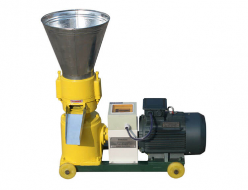 AZSPLM 150 Small Flat Die Pellet Machine with Electric Motor
