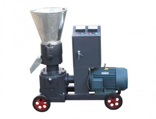 AZSPLM 200 Small Flat Die Pellet Machine with Electric Motor