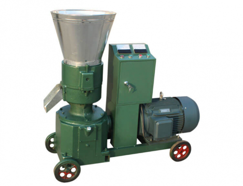 AZSPLM 300 Small Pellet Mill with Electric Motor