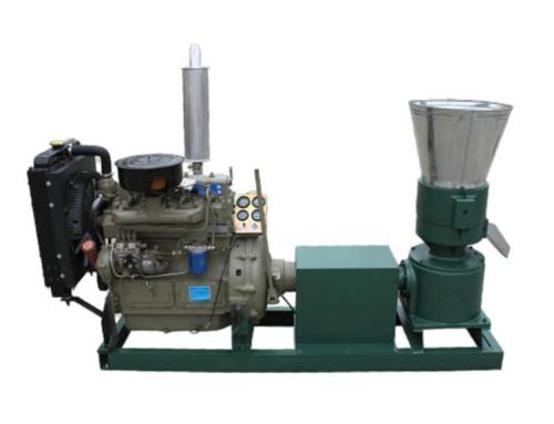 AZSP-300D Flat Die Pellet Press