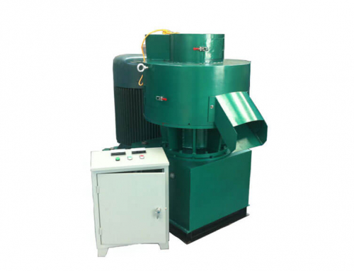 AZS-450 Vertical Ring Die Pellet Machine