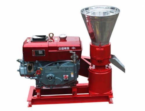AZSP-150D Small Pellet Press with Diesel Engine