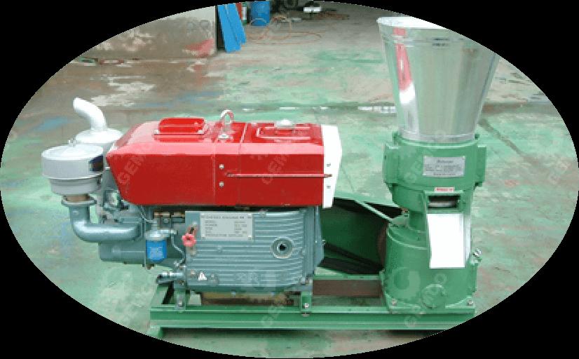home diesel flat die pellet mill