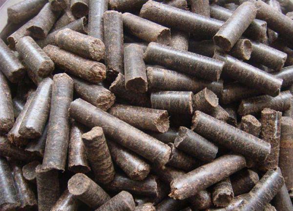oil palm pellets