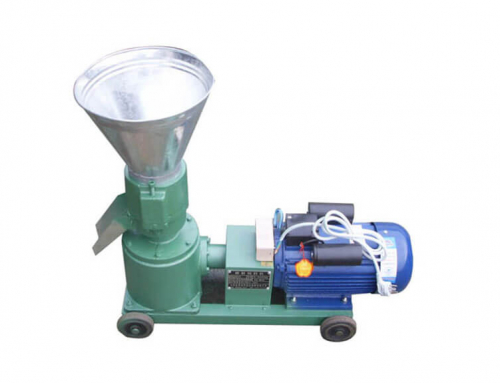 AZSPLM 120 Small Pellet Machine with Electric Motor