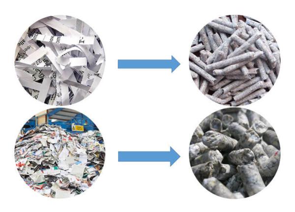 waste pellet